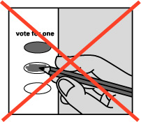 Overvote will not count