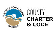 Washington County, Oregon, Charter and Code.