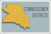 Washington County, Oregon, Commissioner Districts.