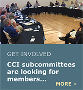 CCI subcommittees are looking for members.