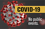 COVID-19 has limited public events