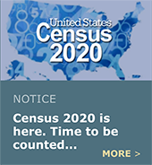 Census 2020 - Be sure to be counted!