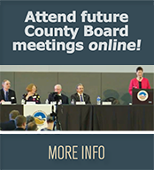 Attend County Board meetings online!