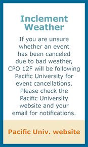 CPO 12F Inclement Weather Guidelines