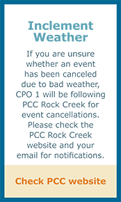CPO 1 Inclement Weather Policy