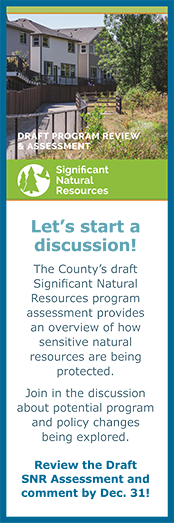 Review the Draft Significant Natural Resources Review and Assessment and share your comments!
