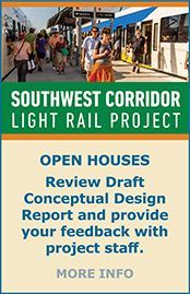 SW Corridor Light Rail Project - Online and On Site Open Houses