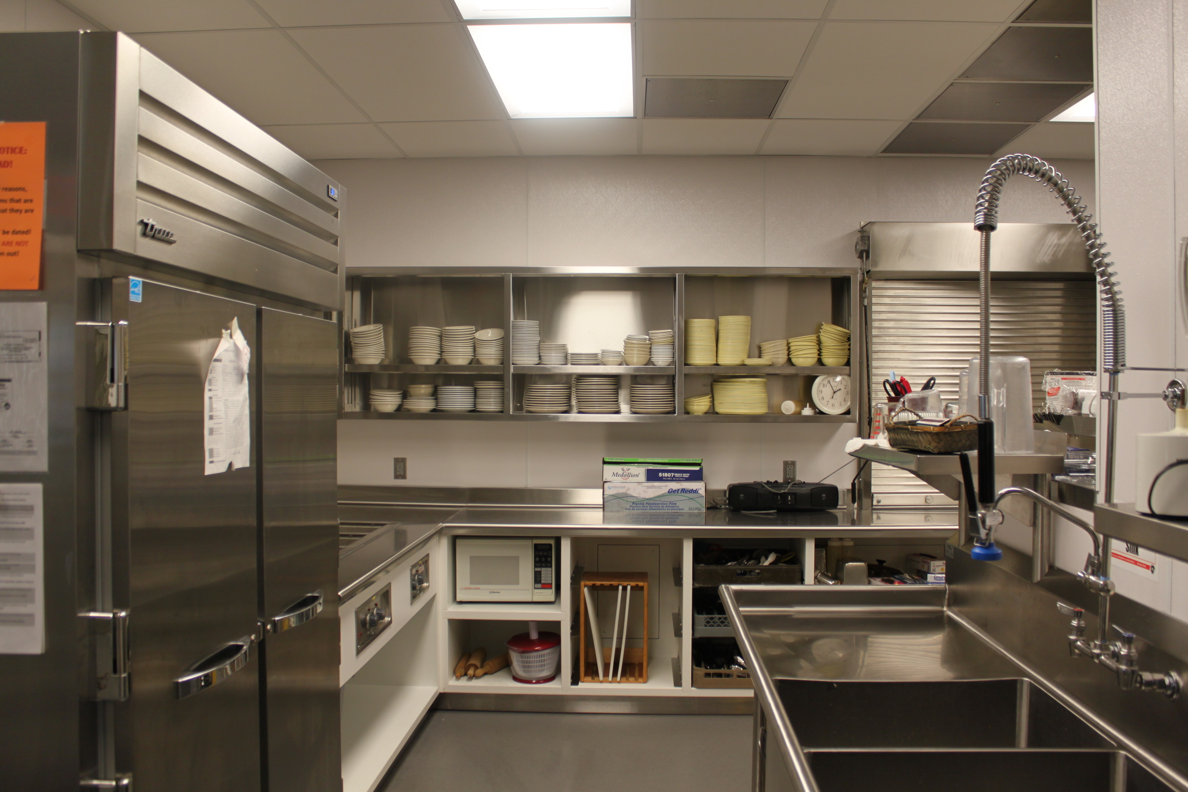 Forest Grove Senior Center Kitchen