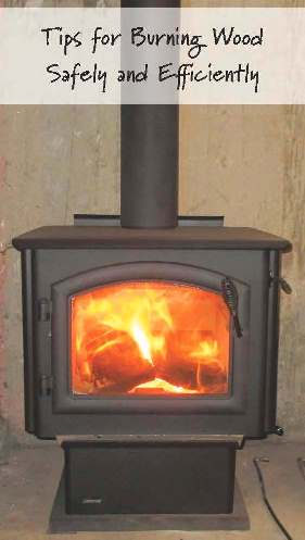Tipe for Burning Wood Safely and Efficiently