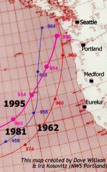 Graph of Map 1962-1995