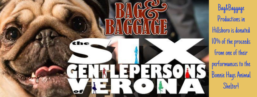 Bag and Baggage Theatre Donated Proceeds from a Play to the Animal Shelter