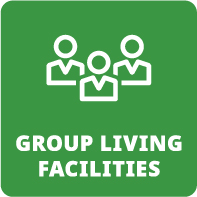 Group living facilities