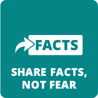 Share facts, not fear