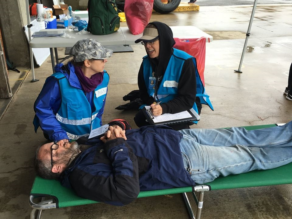MRC Medical Aid Station Disaster Simulation