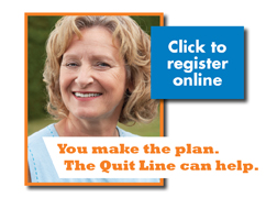 The Oregon Quit Line can help!