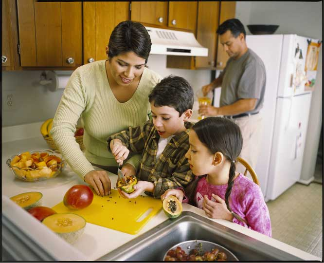 WIC promotes healthy eating for the whole family