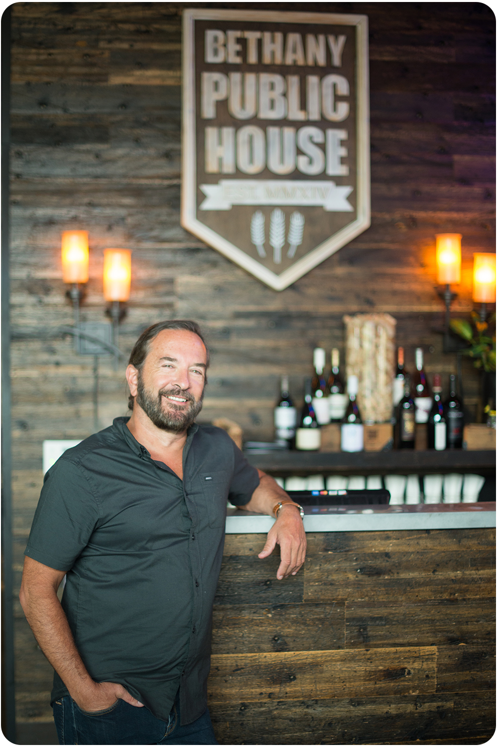 Bethany Public House owner Andre Jehan