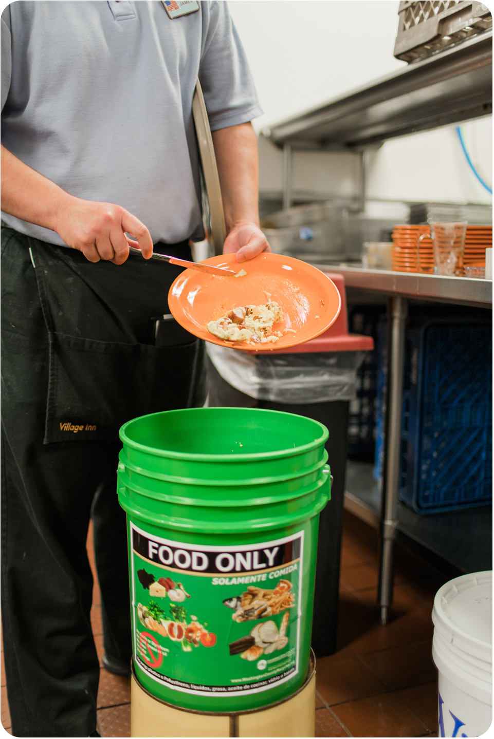 Village Inn food scraps collection