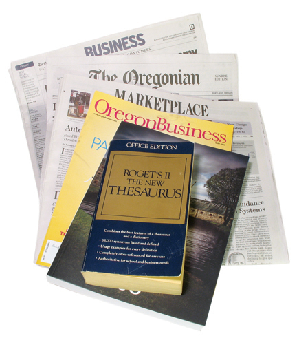 newspaper phone book