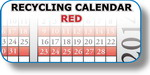 Recycling Calendar - Red