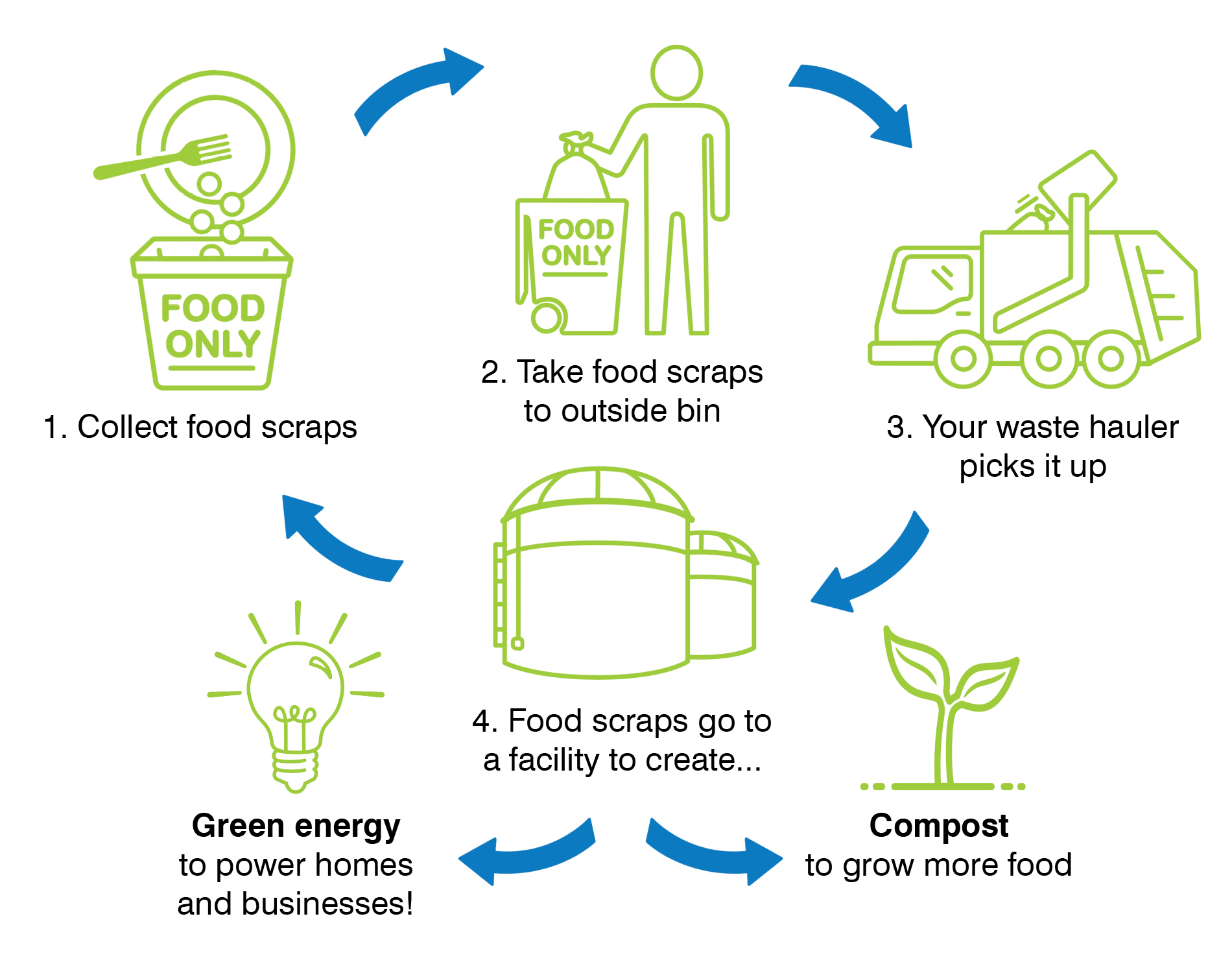How Food Scraps Collection Works