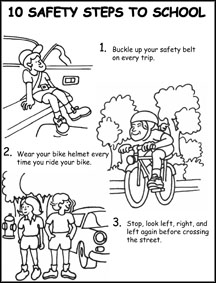 safety coloring pages Coloring Pages safety coloring pages