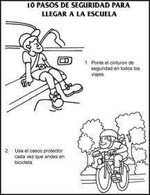 10SafetyStepsODOTColoringSpanish-1