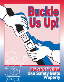 Buckle Up Coloring Book