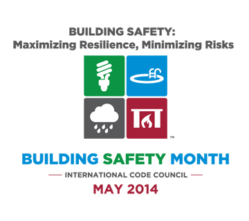 Building Safety Month 2014 Poster