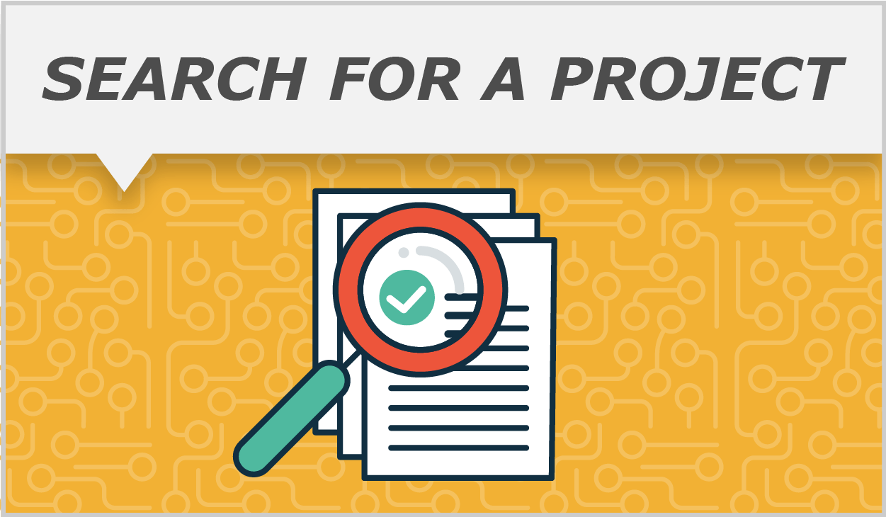 New Project Search Callout