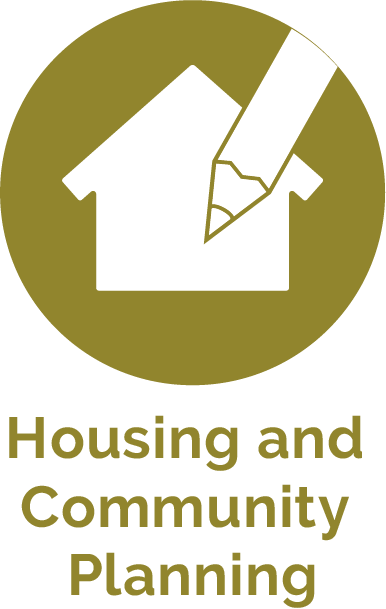 Housing and Community Planning Icon