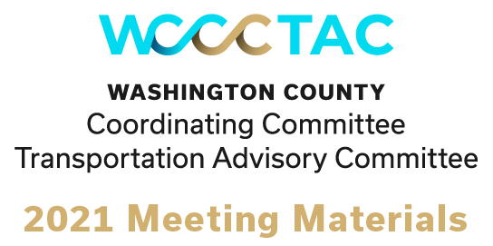2021 WCCC TAC meetings