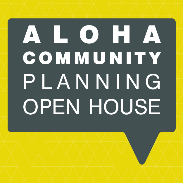 Logo for Aloha Community Planning Open House