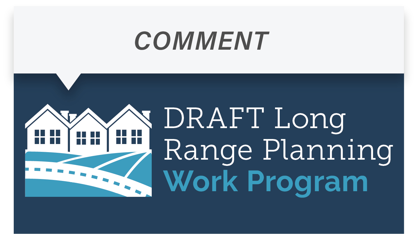 Comment on the 2020 Draft Work Program