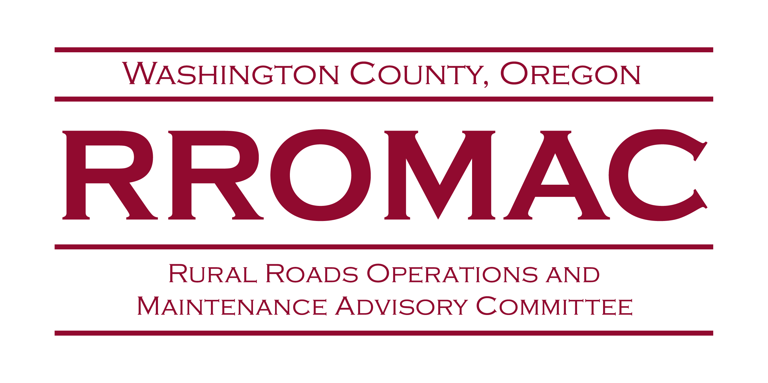 Rural Roads Operations and Maintenance Advisory Committee