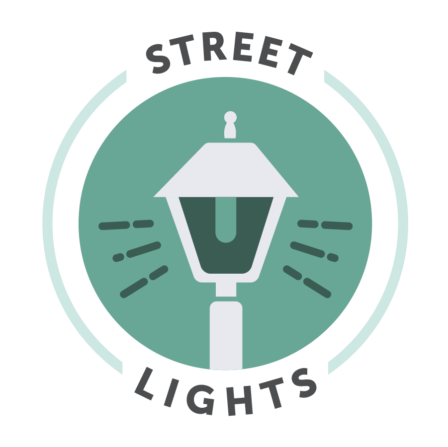 Use street light icon