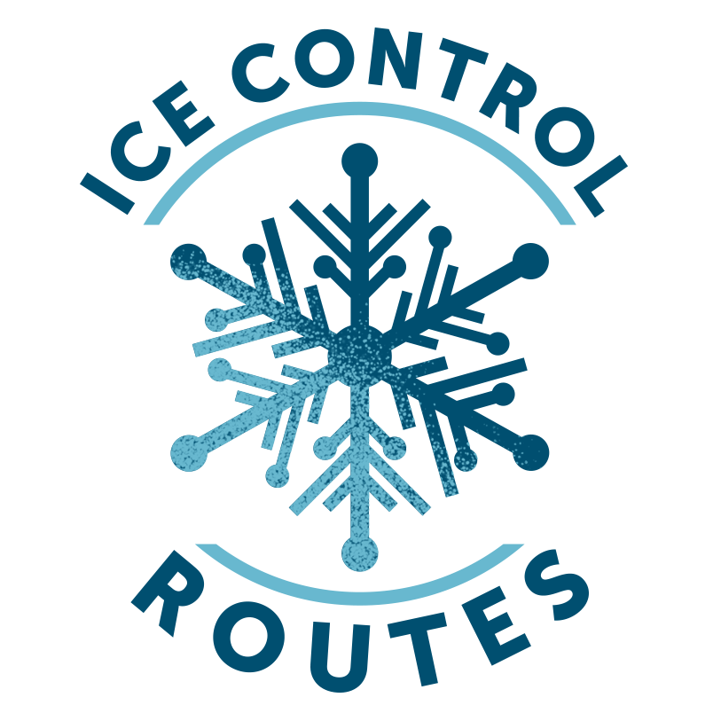 Ice control routes