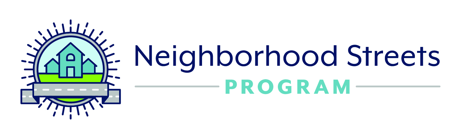 Neighborhood Streets Program logo
