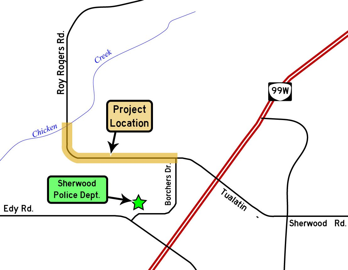 Roy Rogers Road open house map