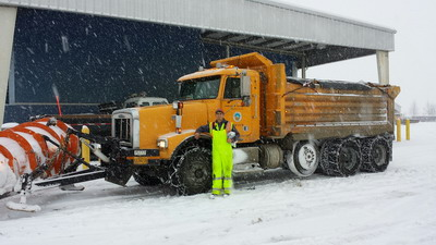 Winter snow operations