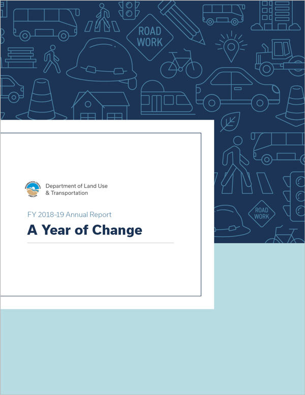 A Year of Change FY 18-19 annual report available online