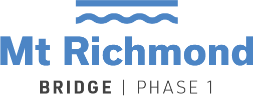 Mt. Richmond Road Bridge - Phase 1 logo