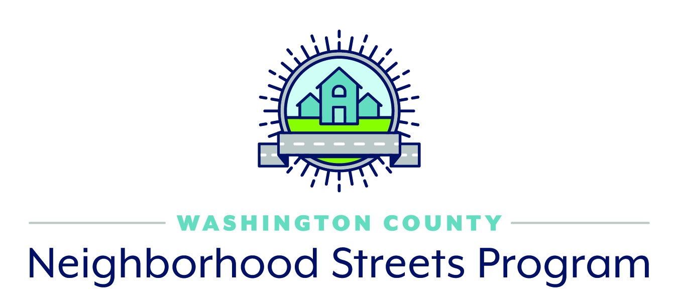 Neighborhood Streets Program NSP logo