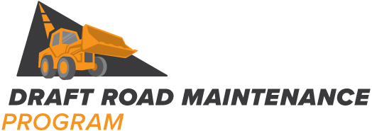 Draft Road Maintenance Program logo