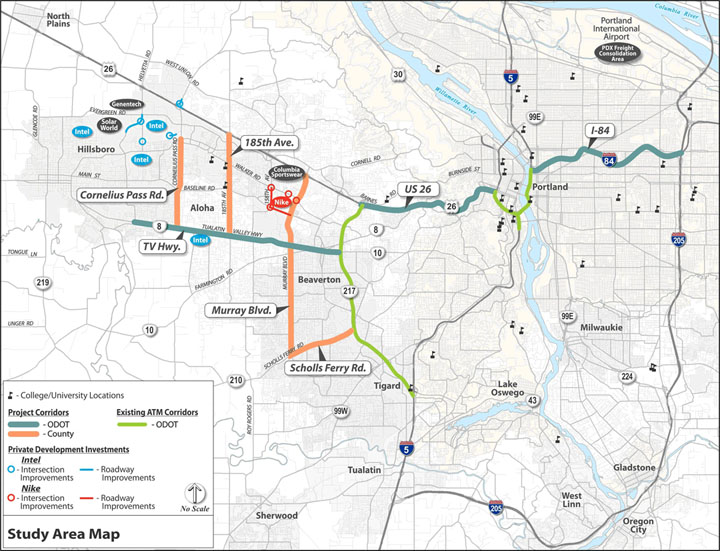 ODOT and Washington County receive $10.1 million for traffic ...