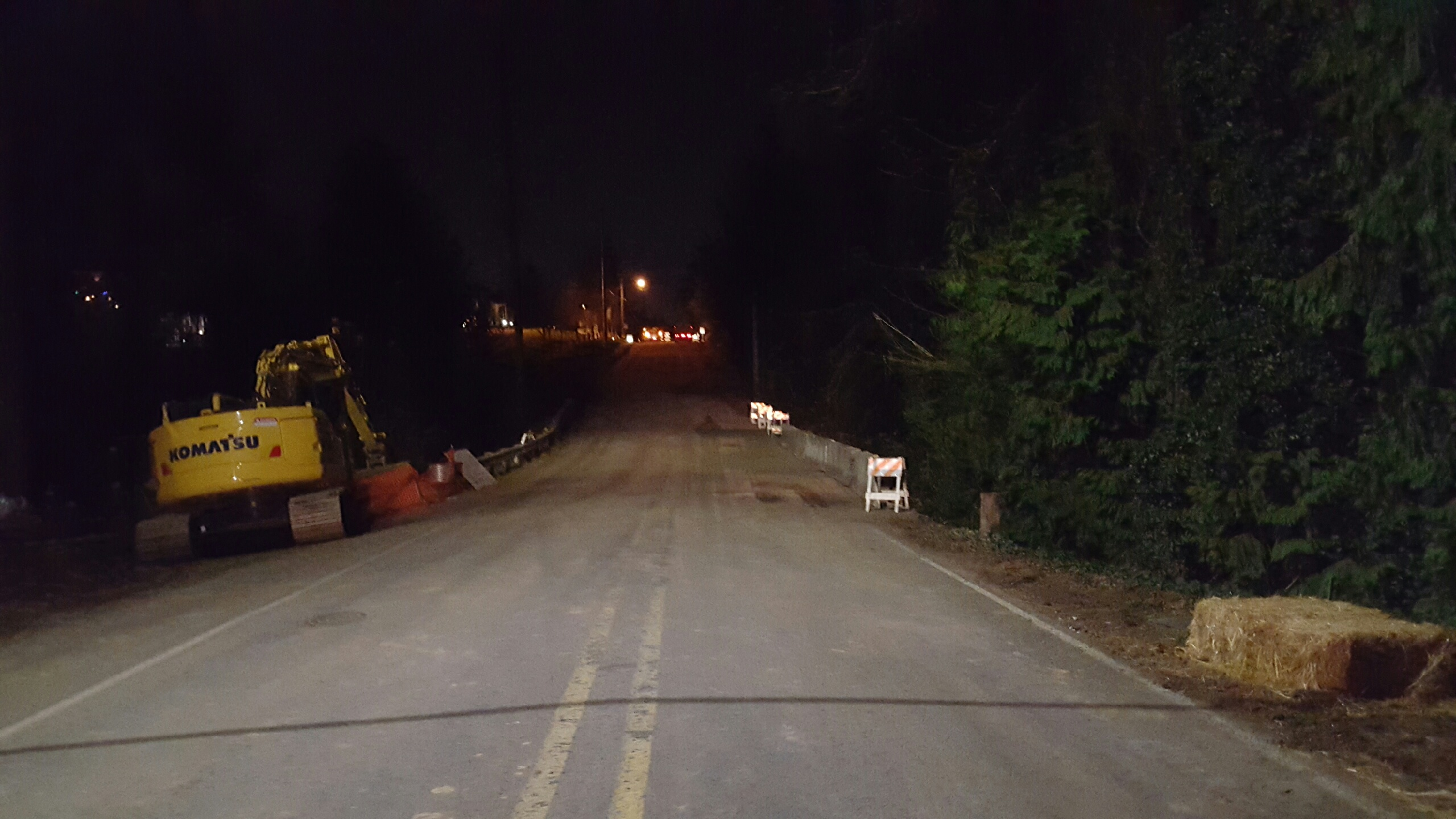 Beef Bend Road opened Jan. 2, 2016, after sinkhole repairs