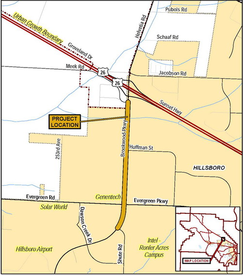 Brookwood Pkwy Vicinity Map