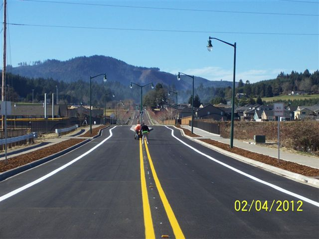 David Hill Road Extension completed