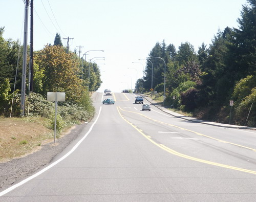 185th Avenue Before Construction