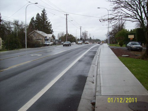 185th near Pike looking north